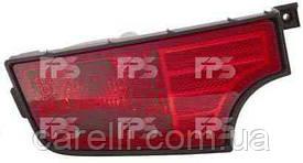 Ліхтар задній для Kia Soul '09 - лівий (DEPO) в бампері, з протитуманною фарою
