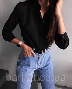 Рубашка черная S-M; M-L р-р.