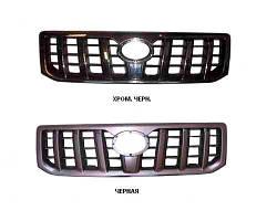 Решетка Toyota Land Cruiser Prado J120 хромированная черная (FPS). 5310160320