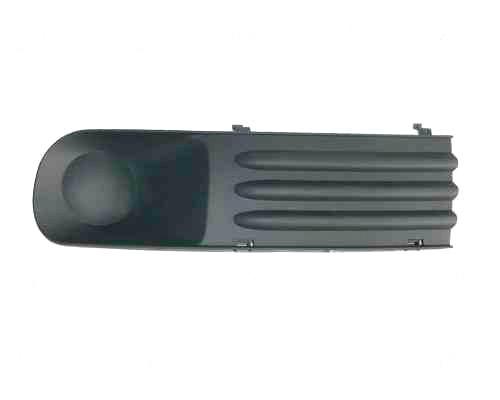 Решітка бампера ліва VW T5 (тип TRANSPORTER) без отвору під протитуманні фару (DEPO). 7H0807489C7