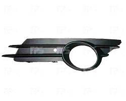 Решетка бампера правая Opel Corsa 07. 06-11 с отверстием под противотуманную фару (DEPO)