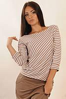Стильная женская блуза Сити капучино