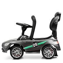 Толокар Bambi (M 4074LS-11) Серый (покраска), MP3, Mercedes AMG, фото 3