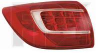 Фонарь задний для Kia Sportage '10- левый (DEPO) внешний