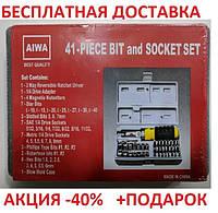 Набор инструмента AIWA PT/DR-18 41-Piece bit and Socket Set