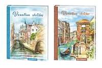 """Тетрадь A4 A4010 """"Венеция"""", 21х29,3см твердая обложка 96листов клетка"""