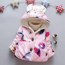 Милая демисезонная куртка для девочки