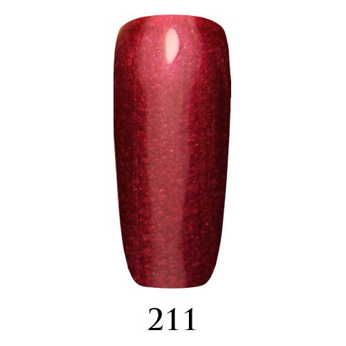 Adore Гель-лак 211 вишневый с шиммером 7,5 мл