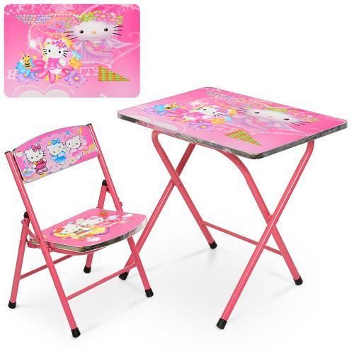 Детский столик складной Hello Kitty A19-HK