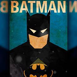 Алмазная вышивка The Wortex Diamonds Постер Бэтмена 30x40 (TWD40006)