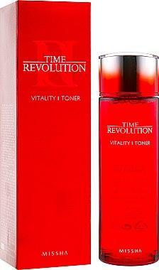Интенсивный антивозрастной тонер Missha Time Revolution Vitality 150 мл