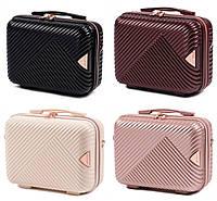 Кейс на чемодан , косметичка , саквояж , сумка на чемодан , сумочка пластикова (ручна поклажа) WINGS WN01