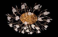 Люстра галогенная со светодиодной подсветкой , пультом 9996-21