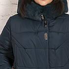 Женская куртка с экомехом на зиму сезон 2020 - (модель кт-630), фото 2