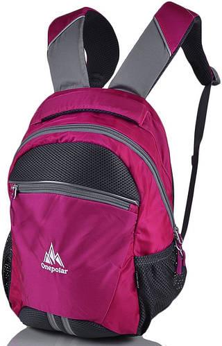 Детский рюкзак для школы 20 л. Onepolar W1700-rose