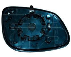 Вкладыш зеркала Porsche Cayenne 03-11 левый с обогревом асферический (VIEW MAX). FP5500M11