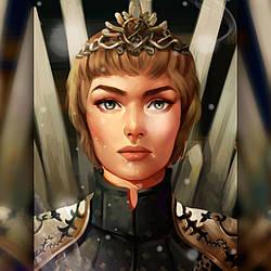 Алмазная вышивка The Wortex Diamonds Королева Серсея 30x40 (TWD40024)