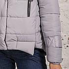 Стильная зимняя женская куртка сезон 2019-20 - (модель кт-676), фото 2