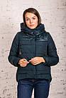 Стильная зимняя женская куртка сезон 2019-20 - (модель кт-676), фото 3
