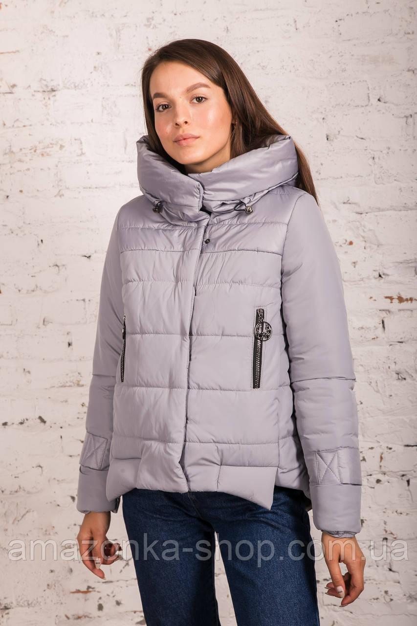 Стильная зимняя женская куртка сезон 2019-20 - (модель кт-676)