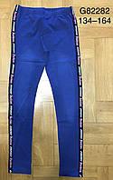 Лосины с имитацией джинсы для девочек Grace оптом, 134-164 рр. Артикул: G82282, фото 1