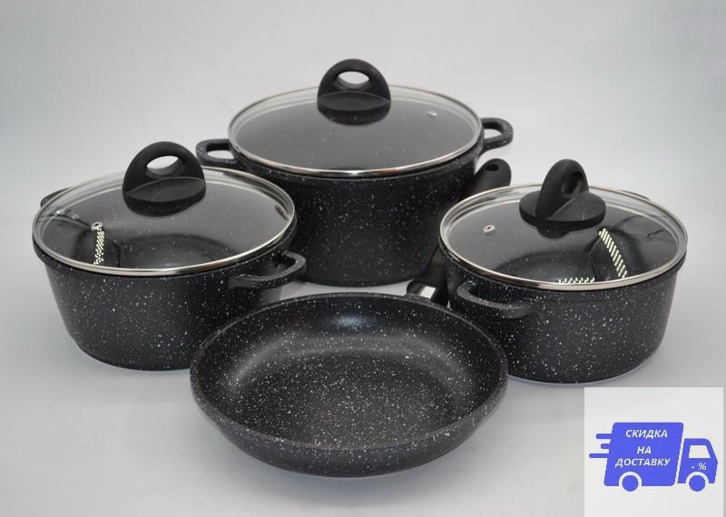 Набор посуды из 7 предметов Benson BN-313