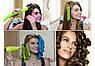 Волшебные бигуди Hair Wavs круглые длинные 50 см и 35 см по 9 штук, фото 4