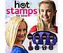 Набор Hot stamps для волос | Наклейки и штампы с узорами на волосы, фото 2