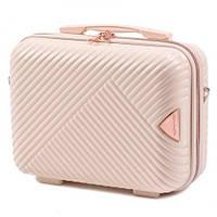Кейс на чемодан , косметичка , саквояж , сумка на чемодан , сумочка (ручна поклажа) WINGS WN01 , КРЕМОВИЙ