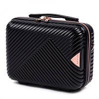 Кейс на чемодан , косметичка , саквояж , сумка на чемодан , сумочка (ручна поклажа) WINGS WN01 , ЧОРНИЙ