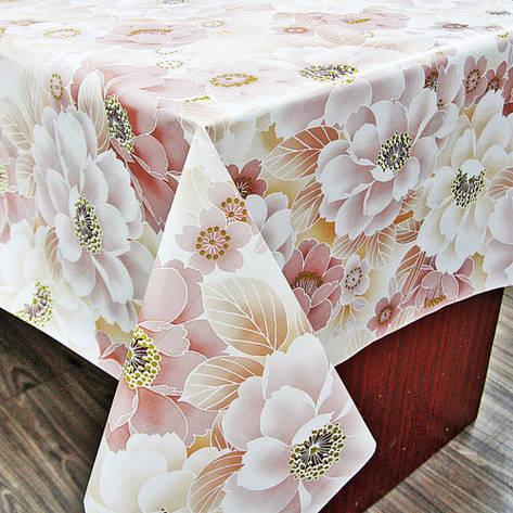 Клеенка на обеденный стол с ПВХ основой,ОПТ продажа со склада, фото 2
