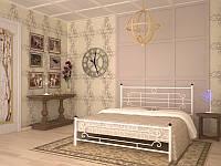 Металлическая кровать Винтаж ТМ Скамья