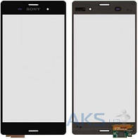 Сенсор (тачскрин) для Sony Xperia Z3 D6603, Xperia Z3 DS D6633, Xperia Z3 D6643, Xperia Z3 D6653 Black