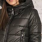 Молодежная женская куртка на зиму сезон 2020 - (модель кт-686), фото 2