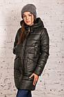 Молодежная женская куртка на зиму сезон 2020 - (модель кт-686), фото 4