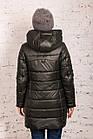 Молодежная женская куртка на зиму сезон 2020 - (модель кт-686), фото 3