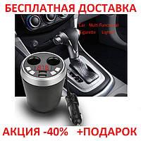Автомобильный FM - модулятор в виде чашки с Bluetooth Blister case