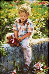 """Набор для вышивания крестиком (дети) """"Лучшие друзья"""""""