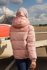 Куртка женская со съемными рукавами на зиму сезон 2020 - (модель кт-677), фото 3