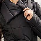 Женское удлиненное пальто на зиму сезон 2020 - (модель кт-489), фото 2