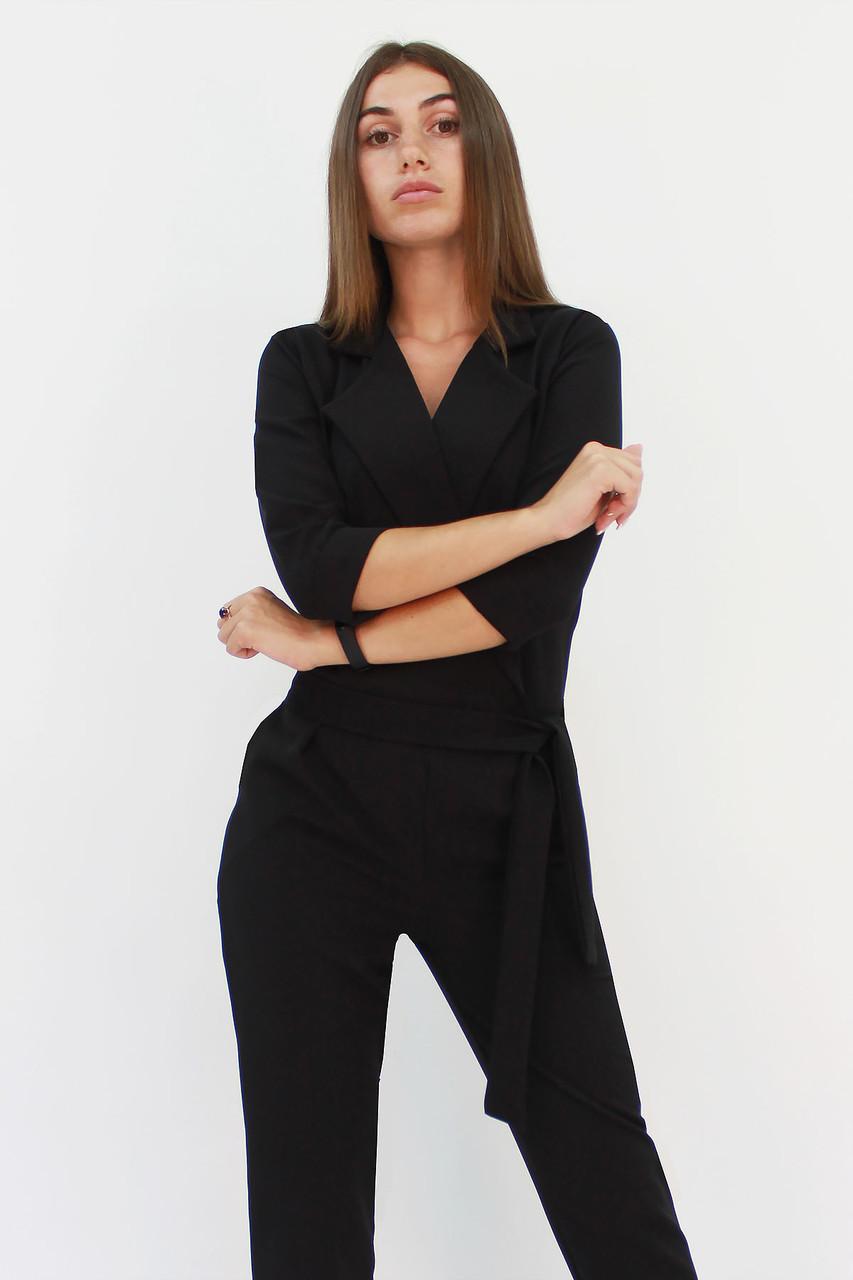 S, M, L / Стильний жіночий комбінезон Noris, чорний