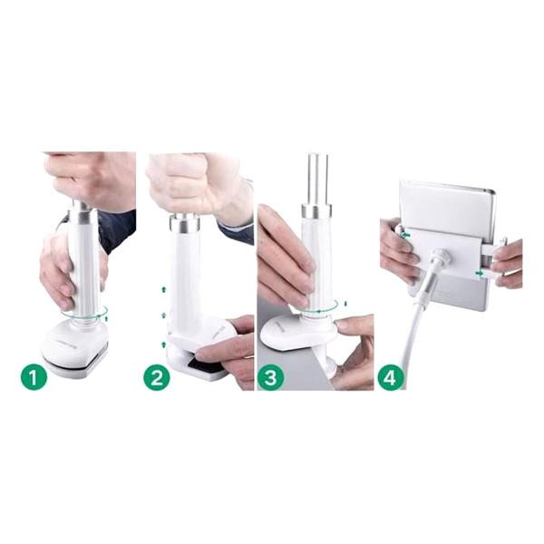 Гибкий механический держатель/подставка для планшета/смартфона Orico CMS08 Белый