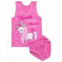 Комплект белья для девочки майка и трусики
