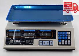 Электронные весы для торговли | рыночные | ваги для торгівлі Opera YZ-218 (50 кг)