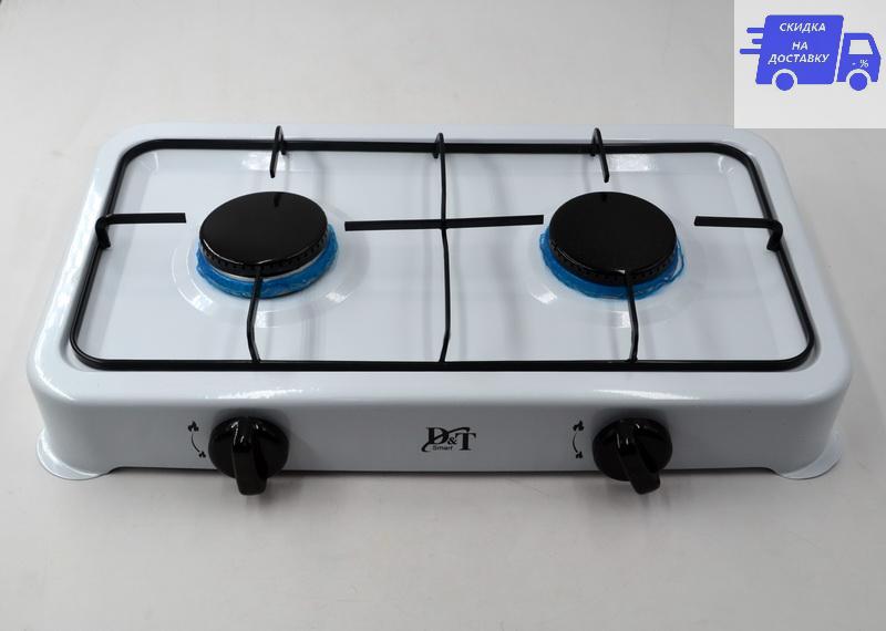 Газовая плита таганок D&T Smart 6032 на 2 конфорки
