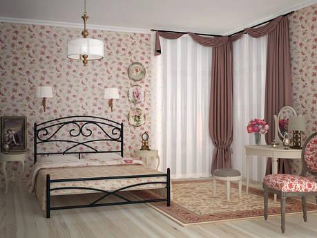 Металлическая кровать Лейла ТМ Скамья, фото 2