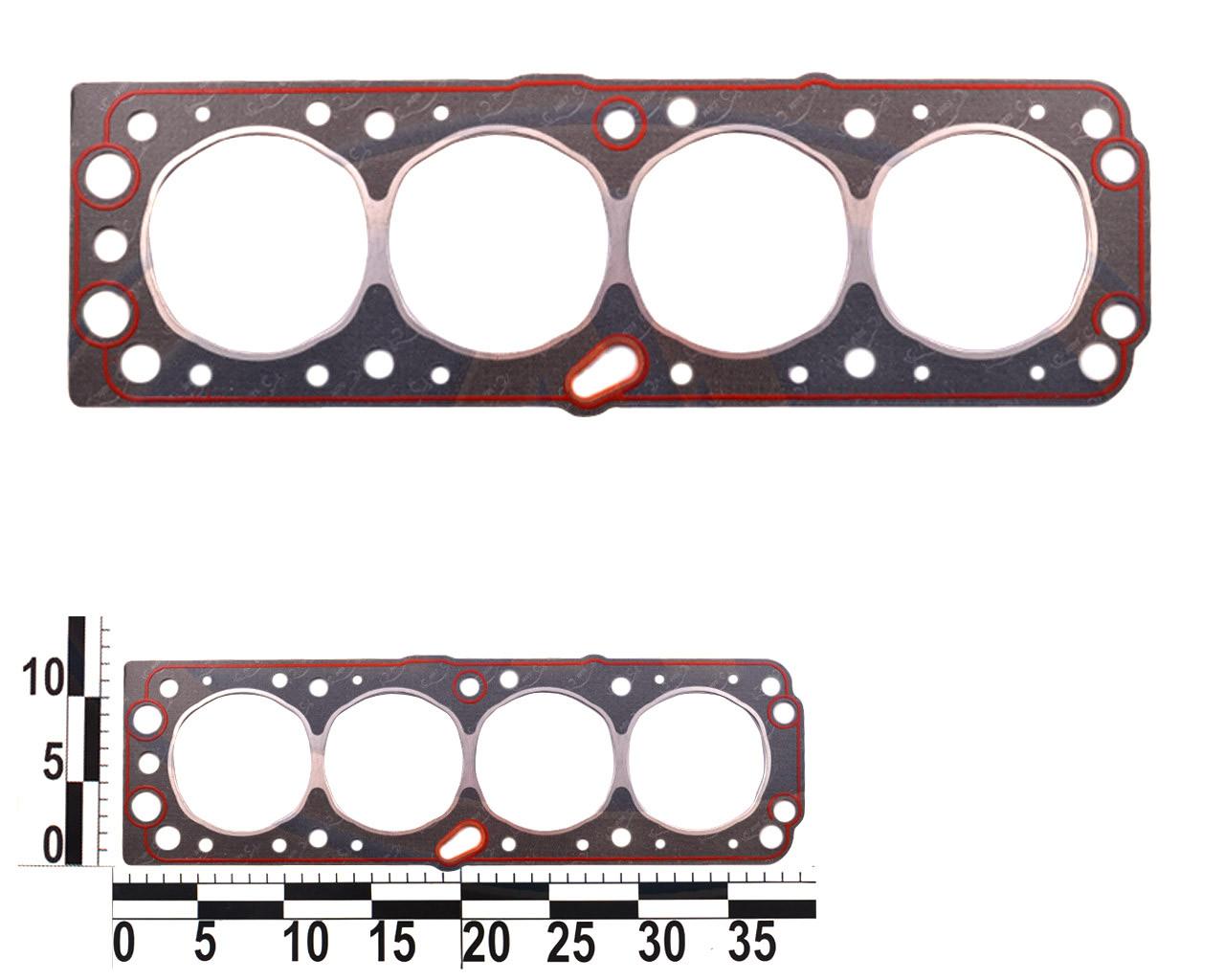 Прокладка головки блока DAEWOO NEXIA двигателя 1,5; 16-ти клапанный.. 96181218-02 (БЦМ)