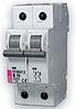 Автоматический выключатель ETIMAT 6  2p C 4А (6 kA)
