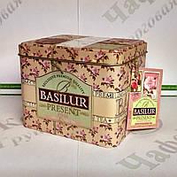 Чай Basilur Розовый подарок (Подарочная коллекция) 100г