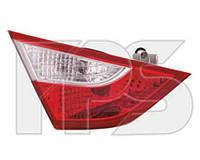 Фонарь задний для Hyundai Sonata '10- левый (DEPO) внутренний